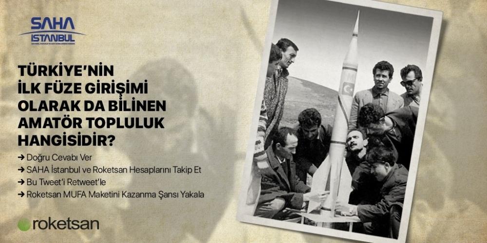 SAHA İstanbul-Roketsan MUFA Maketi Ödüllü Sosyal Medya Yarışması