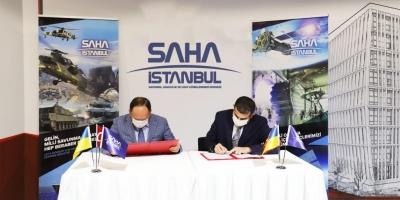SAHA İstanbul ile Ukrayna İş Birliği