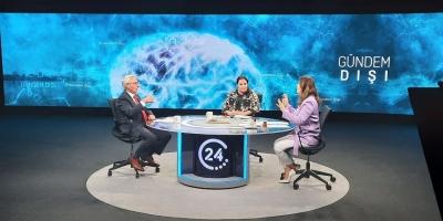 Genel Sekreterimiz İlhami Keleş TV 24'te GÜNDEM DIŞI Programının Konuğu Oldu